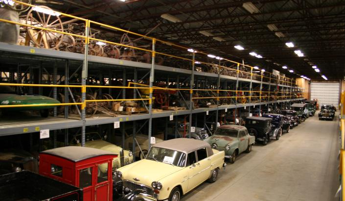 Cars in the Warehouse
