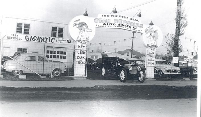 Stan Reynolds Sales circa 1950s